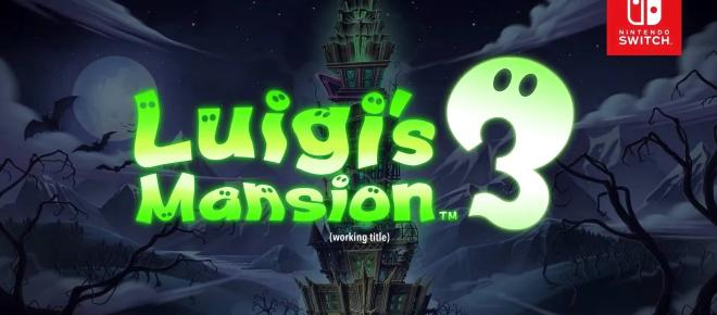 Luigi's Mansion 3 débarque sur Nintendo Switch