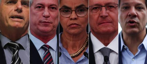 Bolsonaro sobe na última pesquisa divulgada pelo Ibope.