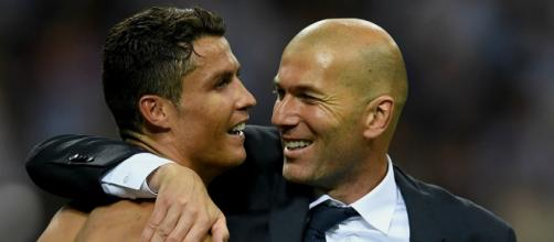 I'm just proud of being your player - Ronaldo pays Zidane tribute ... - pink.cat