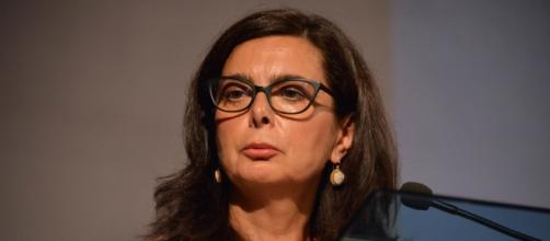La parlamentar di Leu ed ex presidente della Camera dei Deputati, Laura Boldrini.