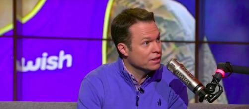 Lee Jenkins during an appearance on The Herd with Colin Cowherd. [image source: The Herd with Colin Cowherd/YouTube]