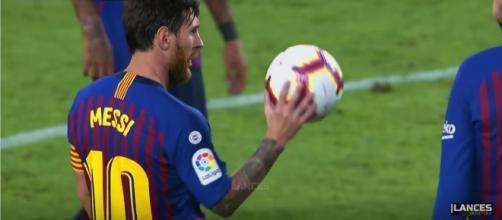 Lionel Messi [Imagem via YouTube]