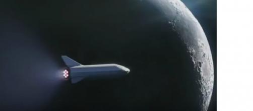 SpaceX Says Fashion Tycoon Will Ride A Rocket Around The Moon. [Image courtesy – Mach, NBC News YouTube video]