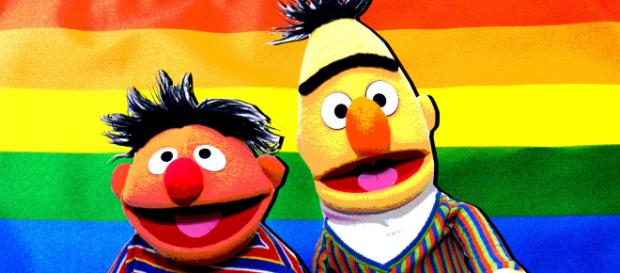 Bert and Ernie cause divide in debate over relationship status (Image credit thedailybeast.com)