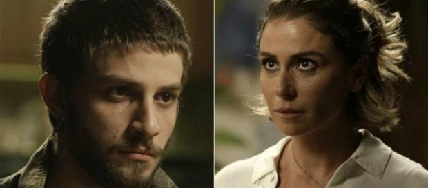 Ícaro e Luzia na novela Segundo Sol.