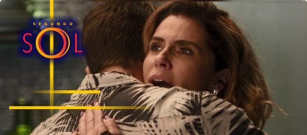 Segredo de Laureta e Karola é descoberto e Ícaro pode salvar a mãe. (Imagem: Reprodução/TV Globo)