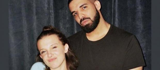 """Stranger Things"" star Millie Bobby Brown gets boy advice from Drake via texting. [Image milliebobbybrown/Instagram]"