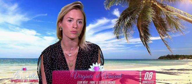 Virginie (La Bataille des Couples) explique son attitude froide envers Vincent