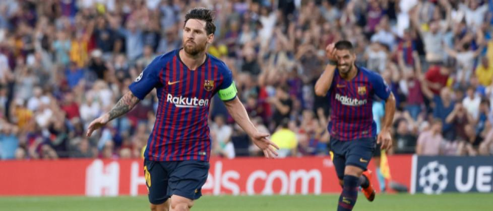 Video: Lionel Messi returns to form with Champions League hat-trick