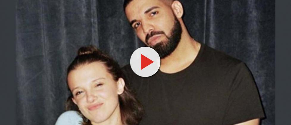 Stranger Things star Millie Bobby Brown gets advice about boys from Drake