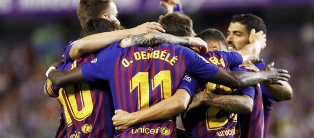 El Barcelona derrotó al Huesca con goleada incluida