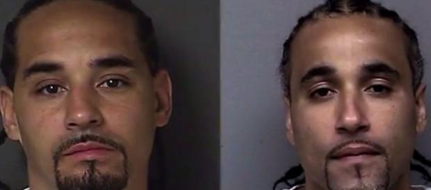 Richard Jones (a sinistra) ha scontato 17 anni di carcere perché scambiato per Ricky Amos, autore di una rapina a mano armata.