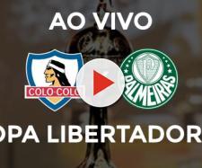 Libertadores: Colo-Colo x Palmeiras ao vivo