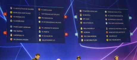 Champions: Juve de Cristiano comparte grupo con Man United - yahoo.com