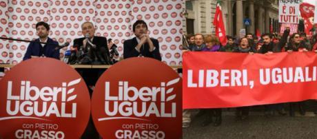 Il processo costituente di Liberi e Uguali non decolla e dalla base iniziano le proteste