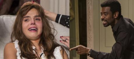 Rochelle acusa Roberval de abusos em Segundo Sol. (foto reprodução).