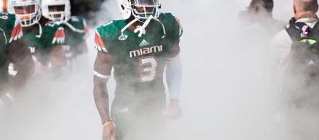 The Giants have added former Miami wide receiver Stacy Coley to their roster. [Image Source: Flickr | JC Ruiz]