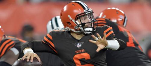Baker Mayfield: Browns top draft pick makes NFL debut vs. Jets - usatoday.com