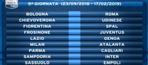 Calendario Serie A Sampdoria.Calendario Serie A Quinta Giornata In Diretta Su Dazn E Sky