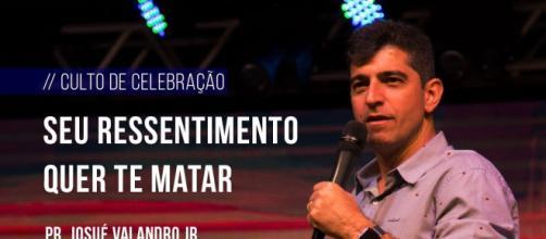 Pastor Josué Valandro Jr., da igreja Batista Atitude, da Barra da Tijuca