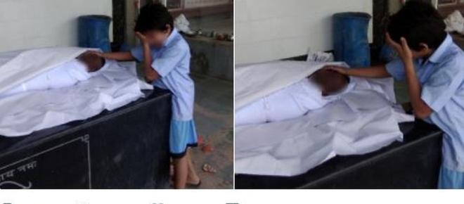 Foto comovente chama a atenção para o drama dos indianos que morrem limpando esgoto