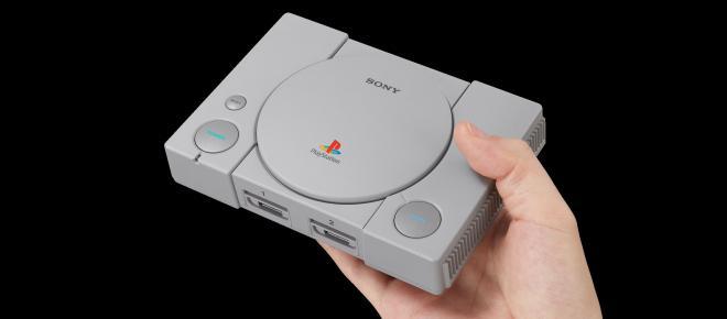 Sony anuncia el lanzamiento de PlayStation Classic y costará alrededor de 99 euros