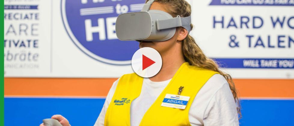 Walmart launches virtual reality training program