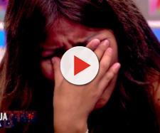 Isa escucha las palabras de su madre en el confesionario de 'GH VIP 6'. / MEDIASET