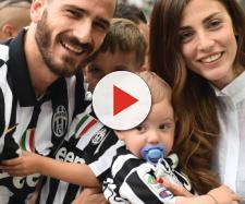 Juventus, Bonucci e la moglie annunciano che aspettano il terzo figlio