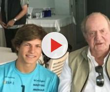 Luis Mas y Juan Carlos I en imagen