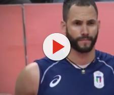 Osmany Juantorena schiacciatore dell'Italia maschile di pallavolo