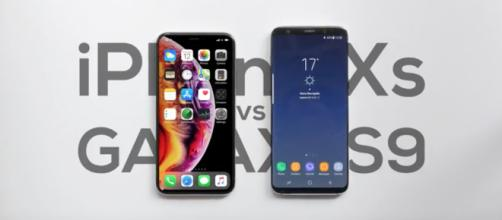 Apple iPhone XS vs Samsung Galaxy S9