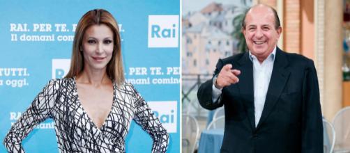 Giancarlo Magalli ha replicato alla battuta di Adriana Volpe a Pechino Express