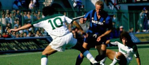 Inter-Avellino 3-1 del 22 settembre 1985, doppietta di Kalle Rummenigge