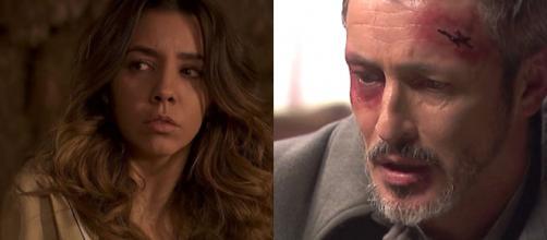 Trame, Il Segreto: Alfonso perde la vista, Emilia seviziata in carcere