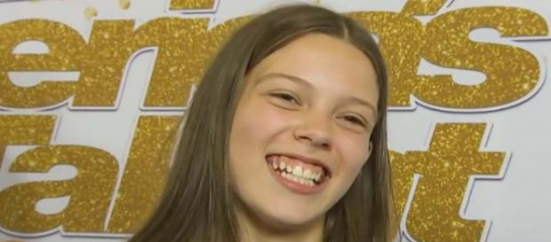 """Courtney Hadwin is heading to Las Vegas after her performance on """"America's Got Talent."""" [Image Access/YouTube]"""