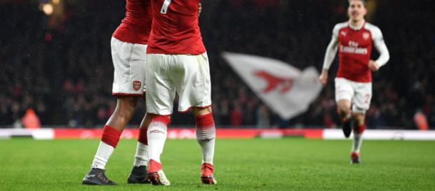 Mkhitaryan shone against Everton -(Image via paininthearsenal./Twitter)