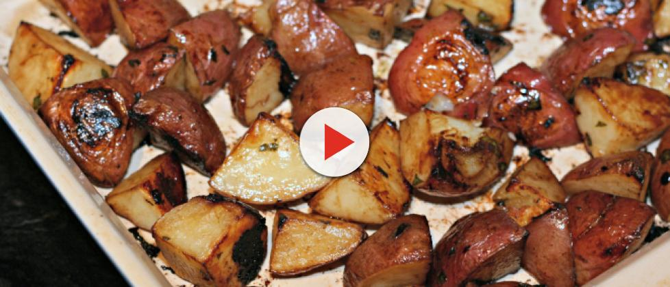Garlic roasted potatoes recipe with variations