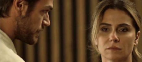 Beto e Luzia em 'Segundo Sol' (Reprodução)