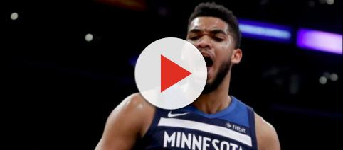 Karl-Anthony Towns agrees to a five-year, $190 million deal with Minnesota Timberwolves [image credit: Chris Smoove / YouTube screencap]