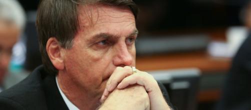 Candidato à presidência do Brasil, Jair Bolsonaro