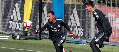 La competencia para ocupar el puesto titular en la porteria del Real Madrid es enorme