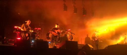 Mumford and Sons played songs in Hungary from their fourth album, Delta, announced this week. [Image source: Ryan Holzer-YouTube]