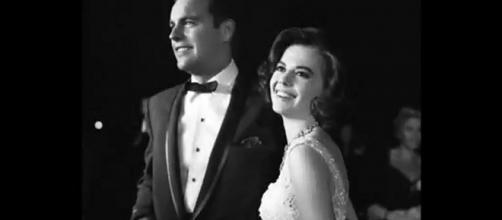 Rep speaks out for actor Robert Wagner (left) about the death of wife and actress Natalie Wood. [Image Source: Nile Entertainment Time - YouTube]