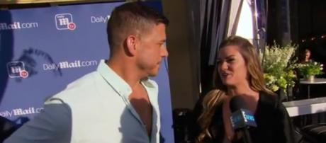 Bravo reality stars Jax Taylor and Brittany Cartwright plan wedding and making babies. - [E! Red Carpet & Live Events / YouTube screencap]