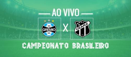 Brasileirão ao vivo: transmissão de Grêmio x Ceará