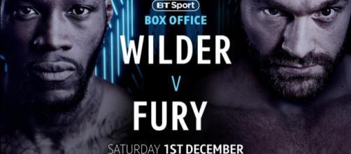 Deontay Wilder vs Tyson Fury: è ufficiale, si combatte l'1 dicembre