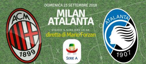 Milan - Atalanta alle ore 18 a San Siro