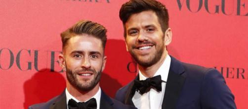 Pelayo Díaz se casó con el empresario argentino Andy McDougall