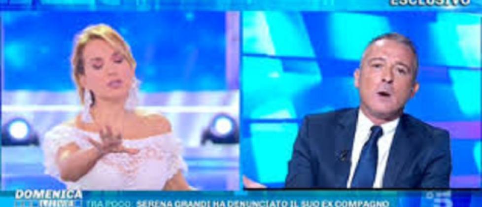 Barbara D'Urso, scontro in diretta con Pierluigi Diaco: 'Peggio per te, a me non frega'